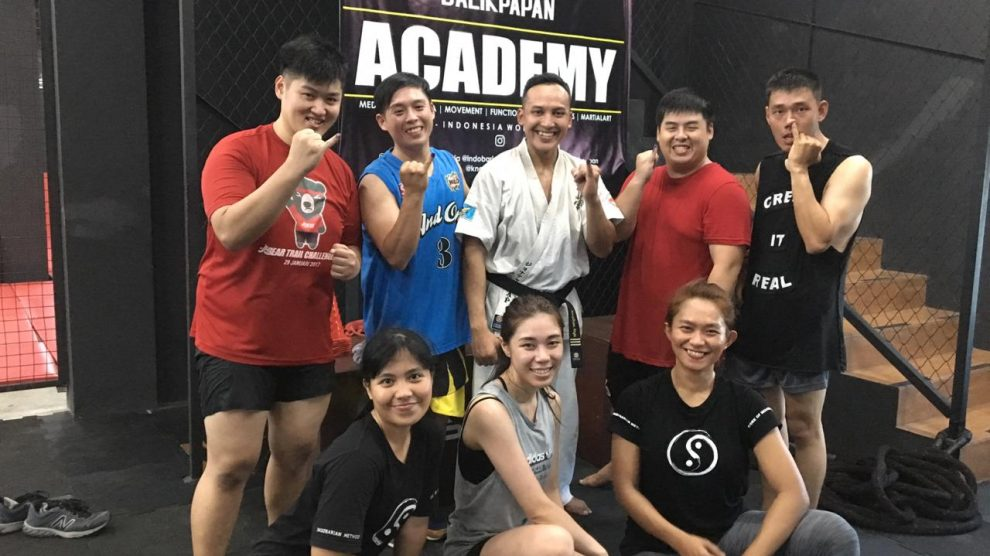 Pembukaan Dojo Akademi Seni Bertarung Kyokushin Indonesia Balikpapan Kaltim Knock Out Gym