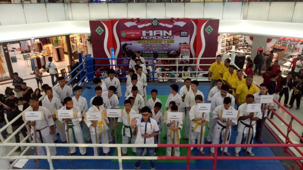 HAN Academy Championship V di Hartono Mall Solo berjalan sukses dan lancar