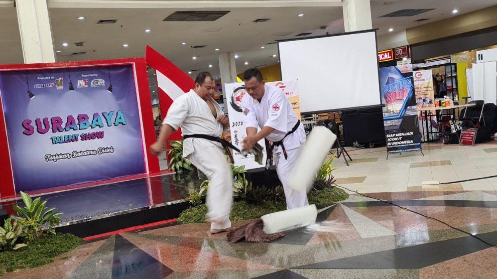 Honbu Akademi Seni Bertarung Kyokushin Indonesia – IBU Kyodokyokushin Indonesia diundang oleh Maspion Square Surabaya