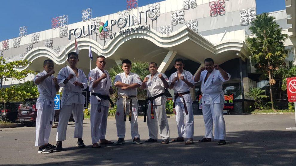 Peresmian beberapa Dojo di Makassar